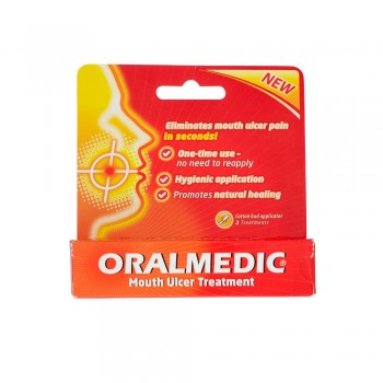 Oralmedic Mouth Ulcer Gel