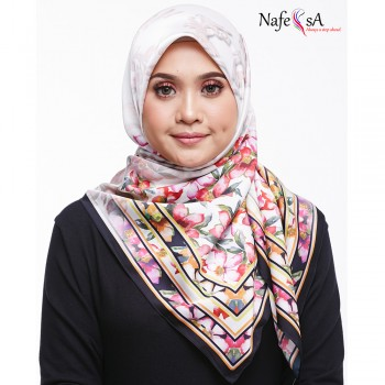 Nafeesa Azalea Amaranth Red Shawl