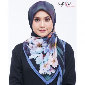 Nafeesa Hibiscus Carleston Green Shawl