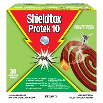 Shieldtox 10 Hours Protek Mosquito Coil 30 pieces