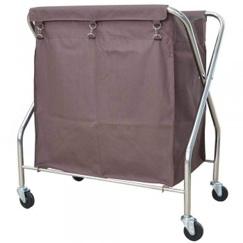 Stainless Steel X - 2 Trolley - SLT-511/SS (item no:G01-523)
