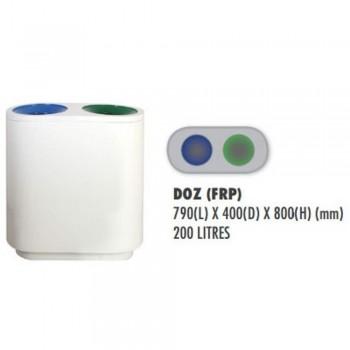 QUART (FIBERGLASS) DOZ - c/w sticker & PE liner (Item No: G01-317)