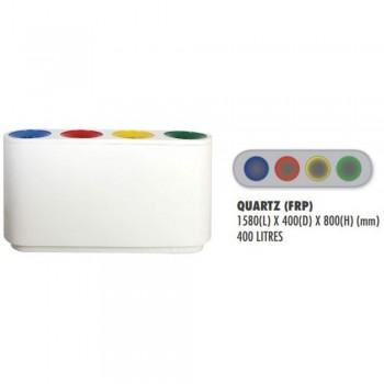 QUART (FIBERGLASS) Quartz - c/w sticker & PE liner (Item No: G01-321)