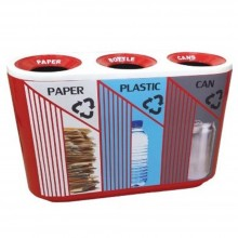 QUART (FIBERGLASS) Trez - c/w sticker & PE liner (Item No: G01-319)