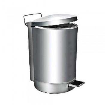 Stainless Steel Litter Bin c/w Pedal-RPD-046/SS (75L) ( Item No.G01-262)