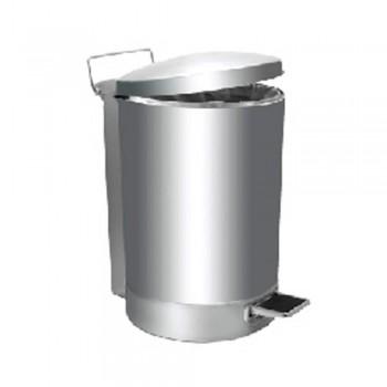 Stainless Steel Litter Bin c/w Pedal-RPD-080/SS (32L) (Item No.G01-259)
