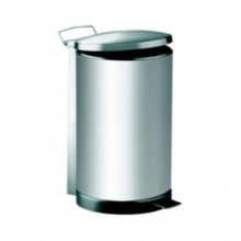 Stainless Steel Litter Bin complete with Pedal-RPD-048/SS (5L) (Item No.G01-258)