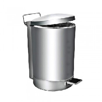 Stainless Steel Round Pedal Bin-RPD-081/SS (43L) (Item No.G01-260)