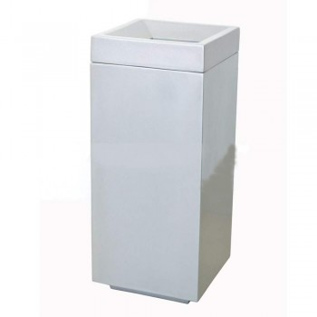 Volta 80 (Fiberglass Open Top Square Bin) (Item No: G01-355)