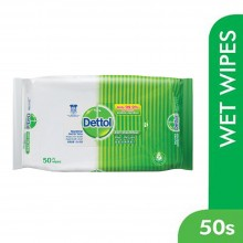Dettol Anti-Bacterial Wet Wipes 50s