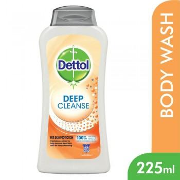 Dettol Deep Cleanse Shower Gel 225ml