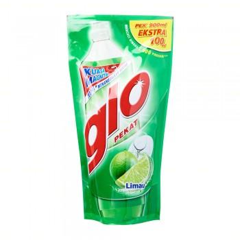 Glo Pekat Lime Dishwashing Liquid 1L RefIll
