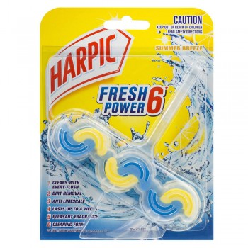 Harpic Fresh Power 6 Summer Breeze 39g