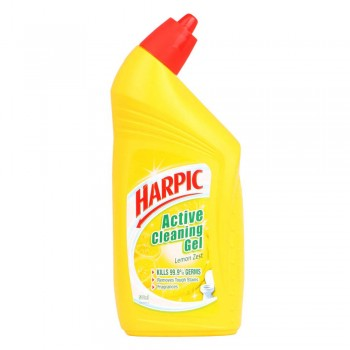 Harpic Liquid Toilet Cleaner Lemon Bottle 500ml