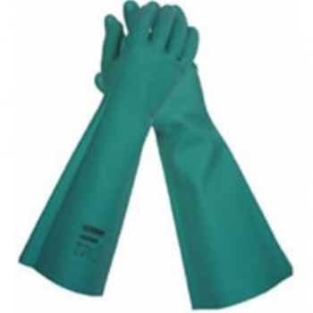 Jackson Safety* G80 Nitrile Chemical Resistant Gauntlet Gloves - Large, 12pairs