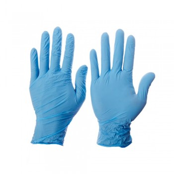Kleenguard G10 Blue Nitrile Thin Mil Gloves - L