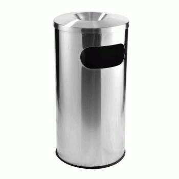 S.Steel Bin c/w AshtrayTop RAB050/A (Item no: G01-84)
