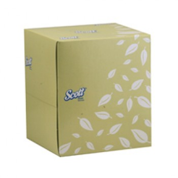 SCOTT® 2-Ply Facial Tissue - Cube (90s) - 90sheets