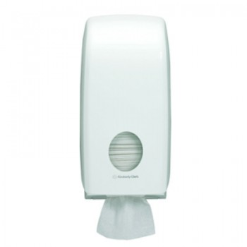 SCOTT® AQUARIUS Hygienic Bath Tissue Dispenser - White