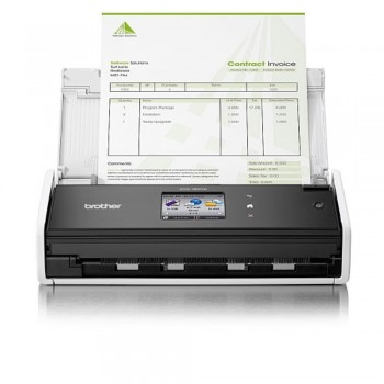 Brother ADS1600W - Compact Network and Wireless 2-sided Document Scanner