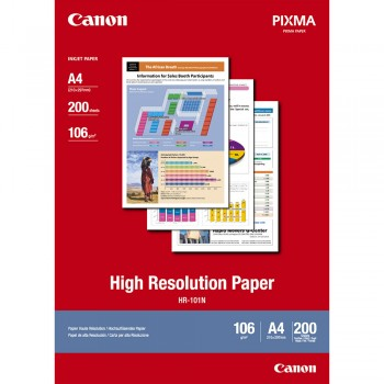 Canon HR-101N A4 High Resolution Paper (200 shts)