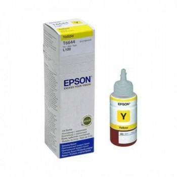 Epson L100 L200 L300 Yellow Ink Cartridge (C13T664400)
