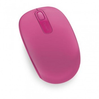 Microsoft Wireless Mobile Mouse 1850 - Magenta Pink (Item No: MSU7Z-00066)