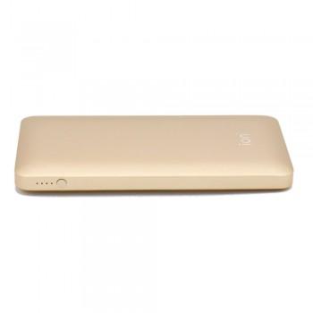 Ion PQ72 Qualcomm Quick Charge 3.0 5.4A 30W Dual USB 10000mAh Ultra-Slim, Gold