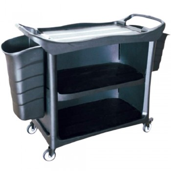3 Tiers Utilities Cart c/w 3 Side Cover & Bucket-3UC-612