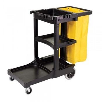 M/Fuction Janitor Cart (Down Press) JC-3