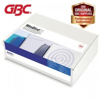 GBC WireBind 21 Loops - 6mm, A4, 46 Sheets, Black