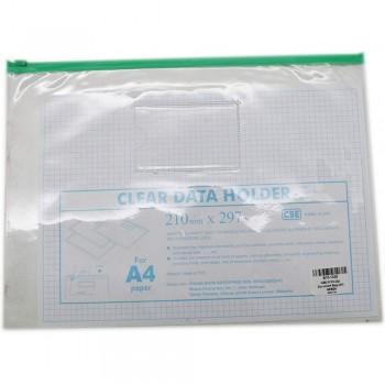 CBE 01314 Zip Document Bag (A4) GREEN