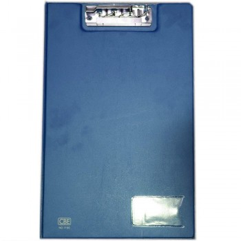 CBE 1100 PVC Clip File (F4) Blue