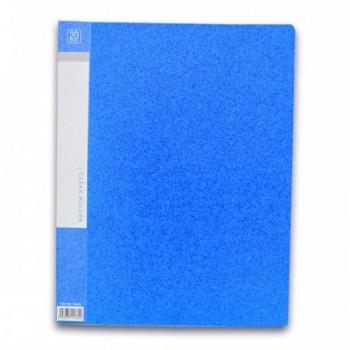 CBE 76020 Clear Holder A4 size - Blue (Item No: B10-10 BL) A1R5B17