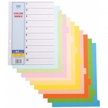 CBE 907-10 - 10 colors Index Divider