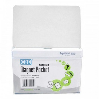 CBE Magnet Pocket 22215 A5 - White (Item No: B10-186W) A1R3B131