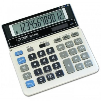 Citizen SDC-868L Calculator 12 Digits