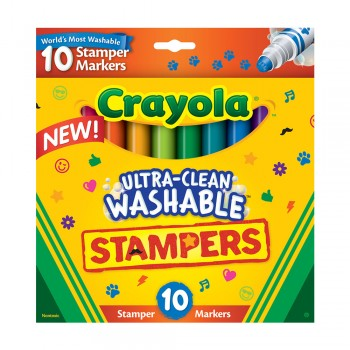 Crayola 10ct Stamper Markers - 588148