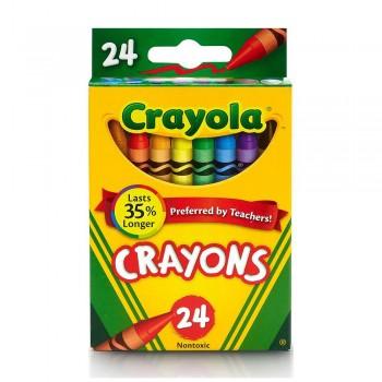 Crayola 24ct Crayons Non Toxic - 523024