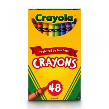 Crayola 48ct Crayons Non Toxic - 520048