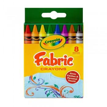 Crayola 8ct Fabric Crayons Non Toxic - 525009