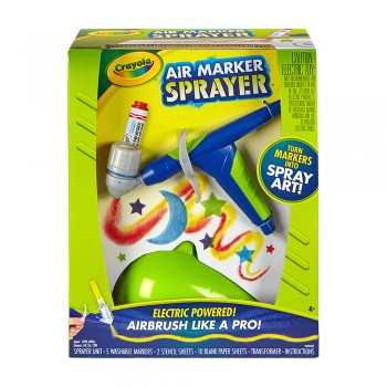 Crayola Air Marker Sprayer Electric Power - 046806