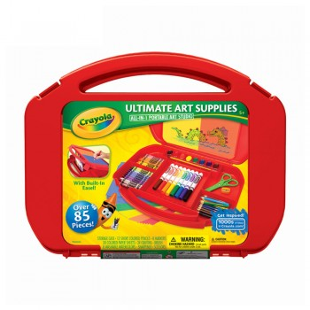 Crayola All In One Portable Art Studio - 045674