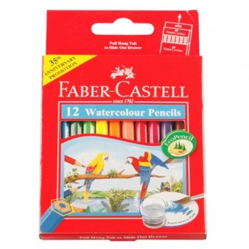 Faber Castell Watercolour Pencil 12S (Item No: B05-09) A1R2B137