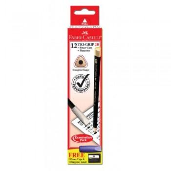 Faber Castell Tri-Grip 2B Pencil -111823 (Item No: A02-32) A1R1B228