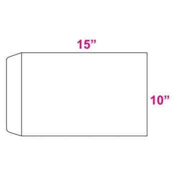 White Envelope - 100gsm - 250 pcs 10-inch x 15-inch (Item No: C03-18) A5R1B4