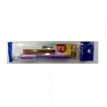 Pilot Rex Grip Mechanical Pencil Value Pack 0.5 mm Pastel Violet