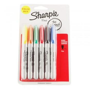 Sharpie Asst Colors Permanent - Marker Pen (Item No: A12-02) A1R3B48