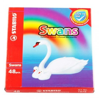 Stabilo 1876 Swan Colour Pencil-48L (Item No: B05-22) A1R2B150