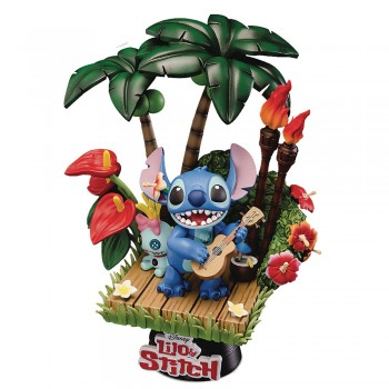 Disney Diorama D-Select Series Exclusive 6-Inch Statue - Stitch (DS-004)